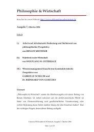 Pdf Download - Philosophie & Wirtschaft
