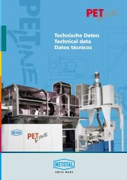 Technische Daten Technical data Datos técnicos
