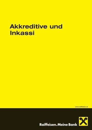 Akkreditive und Inkassi - Raiffeisen