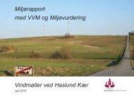 Vindmøller ved Haslund Kær - Randers Kommune
