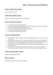 Bilag 1: Randers Kommunes Kvalitetskrav
