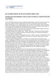 kulturhistorisk museum randers årbog 2002 overvejelser omkring ...
