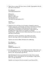 Diskussion kardiologi - RDK
