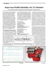 Super-Low-Profile-Fahrlader mit 12 t Nutzlast - RDB eV