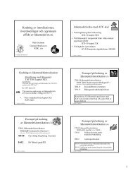 Intox, överdosering och ogynnsam effekt av läkemedel - RDK