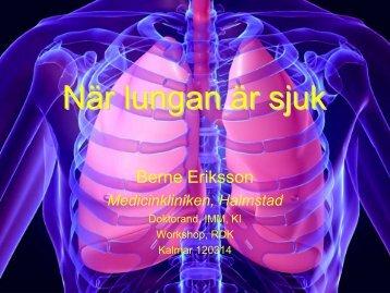 När lungan är sjuk - RDK