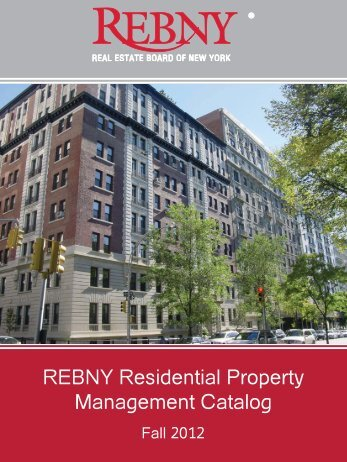 REBNY Residential Property Management Catalog