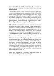 1. De overheid doet in toenemende mate een beroep op burgers om ...