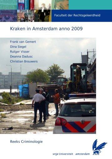 Kraken in Amsterdam anno 2009 - Faculteit der Rechtsgeleerdheid ...