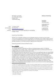 Advies wetsvoorstel schadevergoeding bij ... - Rechtspraak.nl