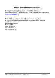 Rapport alimentatienormen versie 2009 - Rechtspraak.nl