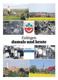 Eutingen damals und heute - Schwäbisches Tagblatt