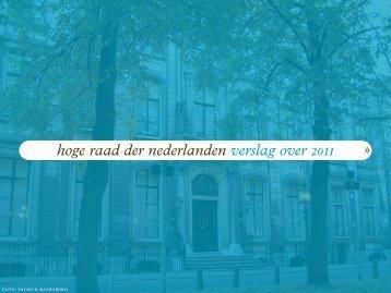 jaarverslag van de Hoge Raad - Rechtspraak.nl