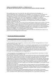 Verslag nevenlocaties 2006 - Rechtspraak.nl