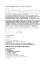 Handleiding regie vanaf de conclusie van antwoord - Rechtspraak.nl