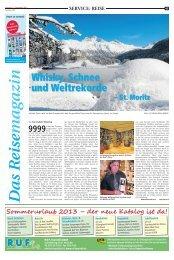 Whisky, Schnee und Weltrekorde - Recklinghaeuser Zeitung