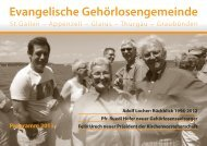 Jahresprogramm 2013 der Gehörlosenseelsorge. - Evangelisch ...