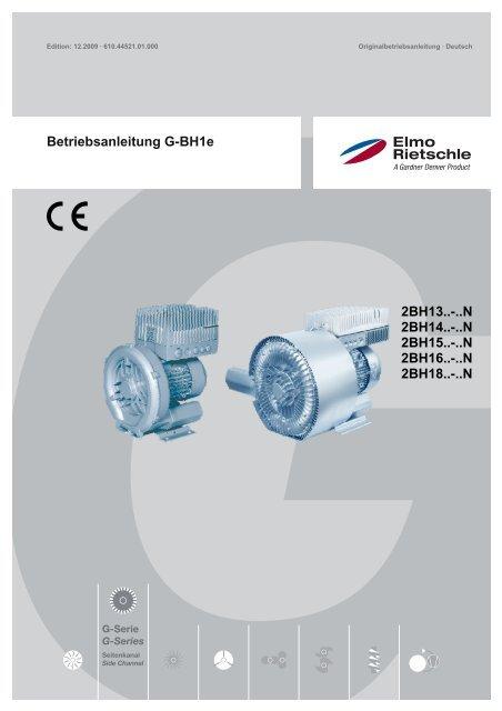 Betriebsanleitung G-BH1e - Elmo Rietschle