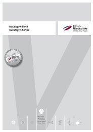 VKatalog V-Serie Catalog V-Series - Elmo Rietschle