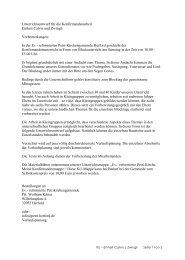 Verlaufsplanung. PDF - Reformiert-Info