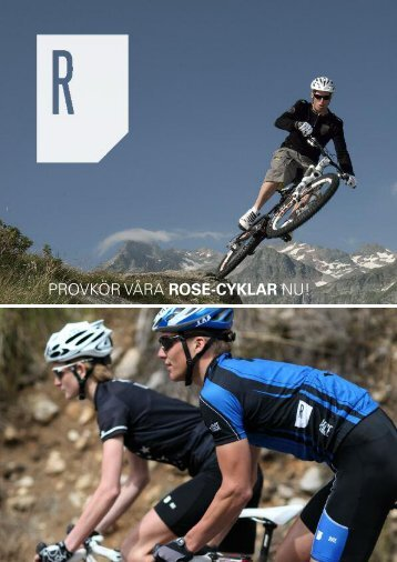 PROVKÖR VÅRA ROSE-CYKLAR NU! - Rose Versand