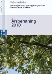 Årsberetning 2010 - Region Hovedstaden