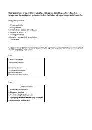 Temaer i spørgeskemaet fordelt på ledelsesværdier - Region ...