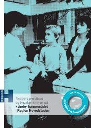 Rapport om tilbud og fysiske rammer på kvinde- barnområdet i ...