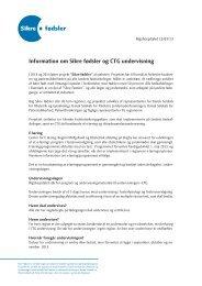 Information om Sikre fødsler og CTG undervisning