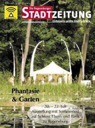 RSZ Juli 2007.indb - Regensburger Stadtzeitung