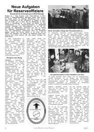 Februar - Reservisten-Report