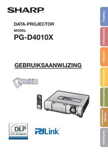 PG-D4010X Operation-Manual NL - RF Systems Professioneel Licht ...