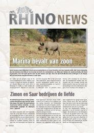 Marina bevalt van zoon - Rhino Resource Center