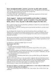 Tale ved stiftsmødet den 4. oktober 2012 - Ribe Stift
