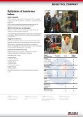 RIDGID.EU/NEW DIN KILDE TIL DE SENESTE ... - Page 7