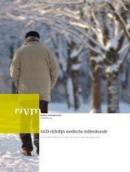 RIVM rapport 609330009 GGD-richtlijn medische milieukunde ...