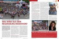 WAS WiRD AUS DeM ReGeNSbURG ... - Regensburger Stadtzeitung