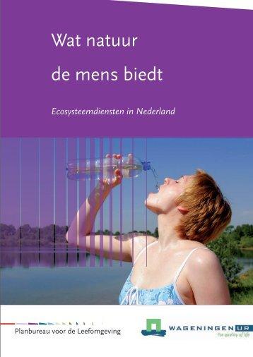 Wat natuur de mens biedt - Biodiversiteit.NL