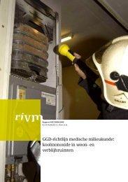 RIVM rapport 609330006 GGD-richtlijn medische milieukunde ...