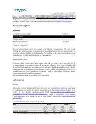 Hexadecafluorheptaan Algemeen Overzicht indeling stoffen ... - Rivm