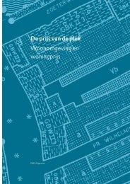 Rapport: De prijs van de plek - Woonomgeving en woningprijs - Rivm