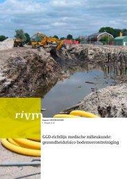 gezondheidsrisico bodemverontreiniging - Rivm