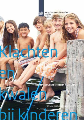 Klachten en kwalen bij kinderen in Nederland - Nederlands - NCj