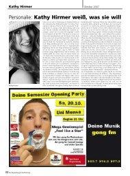 30. November - 23. Dezember 2007 - Regensburger Stadtzeitung