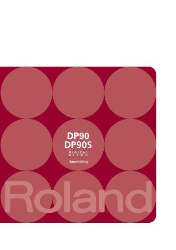DP90(S) Handleiding - Roland
