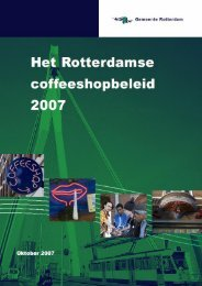 [PDF] Het Rotterdamse Coffeeshopbeleid - Gemeente Rotterdam