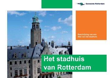 [PDF] Het stadhuis van Rotterdam - Gemeente Rotterdam