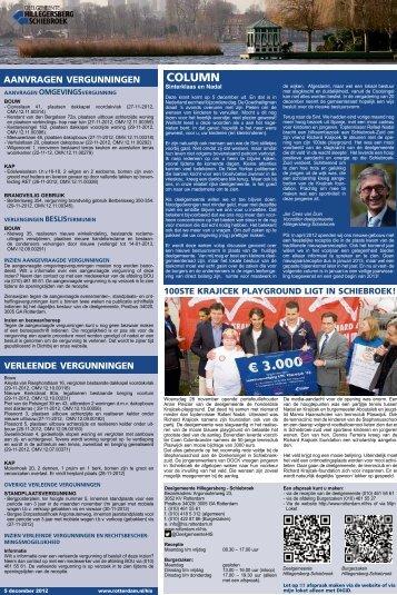 [pdf] column - Gemeente Rotterdam