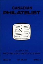 May-Jun - The Royal Philatelic Society of Canada