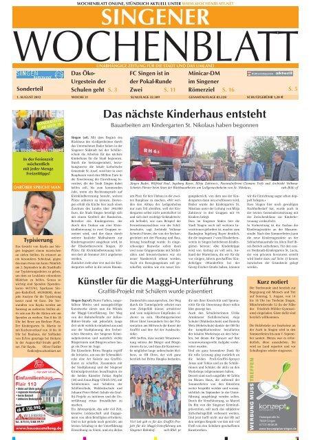 Singener Wochenblatt vom 14. Dezember 2016 Ausgabe